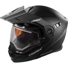 Castle X EXO-CX950 Electric Matte Black Modular Snowmobile Helmet S-3XL