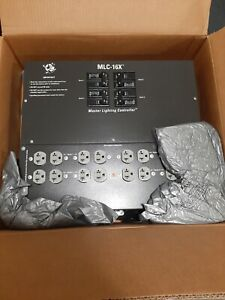 Master Light Controller  MLC-16X' is  rated for 80 amps @ 120/240 volts.