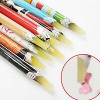 Resin Rhinestones Picker Pencil Wax Pencil Nail Art Dotting Point Pen