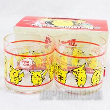 Pokemon Pikachu Mini Glass Set JAPAN ANIME MANGA POCKET MONSTERS