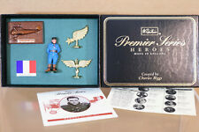 Britains 8933 HEROS dell'aria WWI francese Air Ace Jean Navarre Nuovo di zecca Boxed NJ