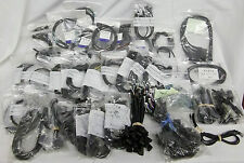 Lot of 100+ Cosmicar Pentax Security Camera 4 , 5 & 8 Pin Cables Wires PC Boards
