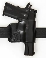 Belt Ride Leather Gun Holster LH RH For Ruger LCP 380 w/ CT Laserguard