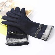 Female Warm Velvet Fashion Women Gloves Finger glove Touch Screen Glove MittenUK