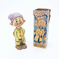 "Louis Marx - Walt Disney ""Dopey"" - Tin Windup Toy - 1938 - Original Box"