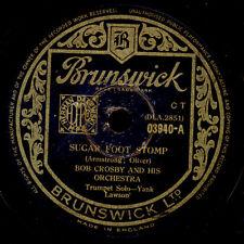 BOB CROSBY & HIS ORCHESTRA Sugar Foot Stomp / King Porter Stomp   78rpm X3175