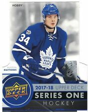 2017-18 Upper Deck SERIES 1 *** PICK YOUR CARD **** BASE SET