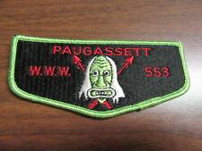 Paugassett 553 s2  Flap ek