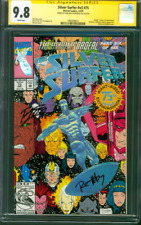 Silver Surfer 75 CGC 2XSS 9.8 Embossed Holofoil Death of Nova Ron Lim Marz 1992