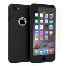 Coque de protection intégrale 360° Avant Et Arrière NOIR pour Apple iPhone 6/ 6s