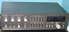 Vtg Technics SH-8030 Space Dimension Controller Frequency Equalizer Mic Echo