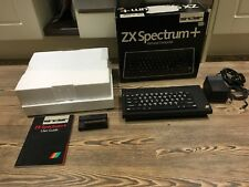 SINCLAIR ZX SPECTRUM + PLUS  Boxed In Excellent Condition