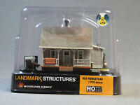 WOODLAND SCENICS HO SCALE OLD HOMESTEAD BUILT & READY gauge house home 5040 NEW