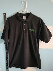Original 2002 Authentic Splinter Cell Promo L Embroidered Collared Shirt
