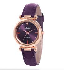 Women Ladies Watches Wrist Watch Quartz Analog Multicolour Leather Strap Fashion