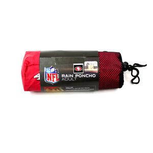 ONE SAN FRANCISCO 49ers, ALL WEATHER RAIN PONCHO FROM CONCEPT ONE