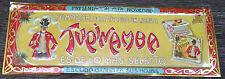 Tupinamba Zigarettenpapier Blechschild Jugendstil Spanien Barcelona um 1900 RAR!