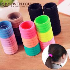 10Pcs Elastic Rope Ring Hairband Hair Band Ponytail Holder Women Accessories Set