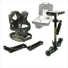 DNA 6002 Glide Gear Nikon Canon Video Camera Stabilizer Vest & Arm System7-12lbs