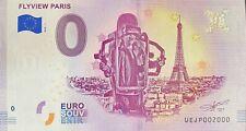 BILLET 0  EURO FLYVIEW PARIS FRANCE 2018  NUMERO 2000