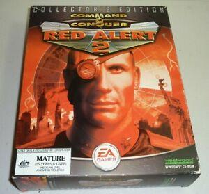 command & conquer red alert 2 big box pc game collectors ed 2000