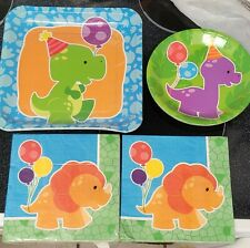 New ListingLittle Dino party supplies