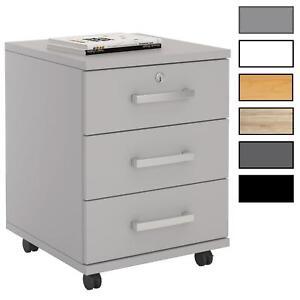Rollcontainer Bürocontainer Schubladenschrank Büroschrank abschließbar