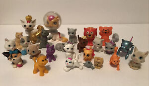 Barbie Animal Pet Friend Figure Lot of Mixed Princess Cats Kittens Kitty Cat