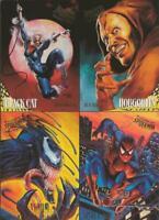 ORIGINAL Vintage 1995 Fleer Ultra Spiderman Uncut Promo Card Sheet Venom