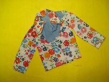 Vtg Barbie KEN Superstar 70s Doll Clothes BEST BUY Floral Shirt 1976 9128 #2