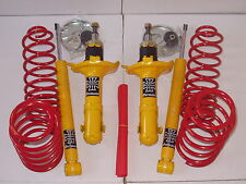 VW GOLF 4 MK4 LOWERING SPRINGS SHOCK SUSPENSION KIT 40mm 1,9 TD SDI TDI