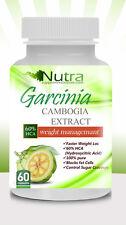 Garcinia Cambogia Extract 1600mg Weight Loss 60% HCA Potassium Calcium