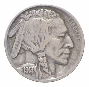 Better 1914-S - US Buffalo Indian Nickel Coin Collection Lot Set Break *862
