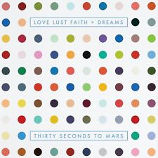 (30) Thirty Seconds To Mars:  Love Lust Faith + Dreams CD