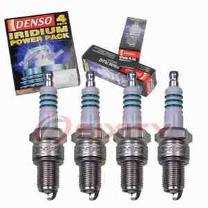 4 pc Denso Iridium Power Spark Plugs for 1963-1981 MG MGB 1.8L L4 Ignition aa