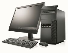 "FAST CHEAP LENOVO M92p PC COMPUTER SET INTEL CORE i5 6GB 500GB HDD with 19"" TFT"