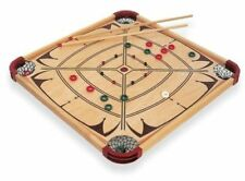Carrom Party Checker Crokinole Billiard Cue Stick Number Disc Game Board Gift