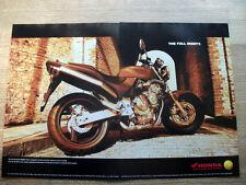 HONDA CB600SF HORNET - VINTAGE ORIGINAL MAGAZINE MOTORCYCLE ADVERT 1998