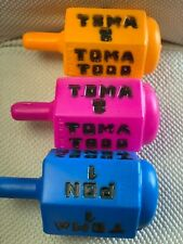 Pirinola Toma Todo Plastic Jumbo Size 9 Inches BIG Mexican Traditional Toy