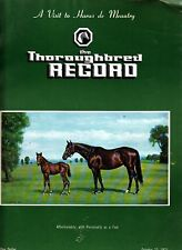 The Thoroughbred Record October 23 1971 Affectionately Personality Cover