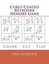 Curly-Coated Retriever Memory Game : Color - Cut - Play by Gail Forsyth.
