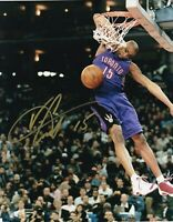 Vince Carter HOF Raptors Autographed Signed 8X10 Photo REPRINT