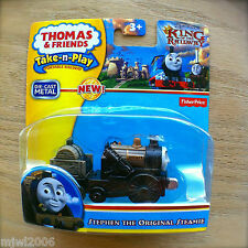 Thomas & Friends STEPHEN THE ORIGINAL STEAMIE Take-N-Play diecast KING OF THE RA