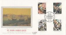 (10442) GB PPS Sothebys FDC St John Ambulance Hyde Park 16 June 1987