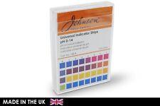 J-pHix® pH Indicator Strips Non Bleed pH 0 - 14.0, 100 Strips