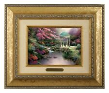 Thomas Kinkade Pools of Serenity Framed Brushwork (Gold Frame)