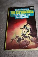 THE EXPENDABLES 2 THE RINGS OF TANTALUS  BY RICHARD AVERY  1ST PRINT 1975