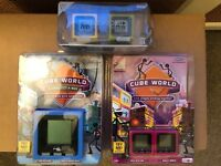 Radica Cube World Lot: Series 2 + Places Global Get A Way New Original Package