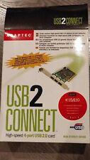 Tarjeta Adaptadora 4x USB ADAPTEC USB 2 CONNECT AUA-3100LP
