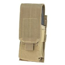 Condor MA5 TAN MOLLE PALS Single Mag 5.56 .223 Rifle Magazine Pouch Holster